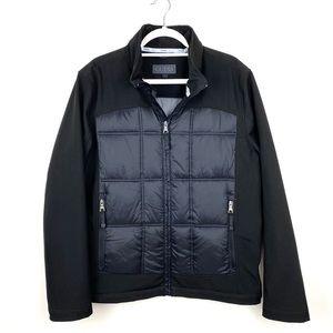 Men's Guess Jacket Coat Black Size L